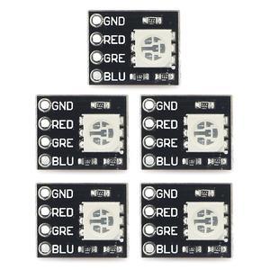 Mini FR4 RGB LED Module for Arduino / Raspberry Pi (5 PCS) - Black