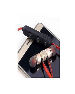 Magnetic Wireless Bluetooth Headphones Sports Sound Stereo Penetrating Bass Earphones / Headphones / Handsfree - Golden