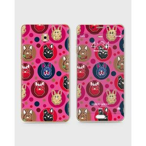 Samsung Galaxy C5 Pro Skin Wrap With Front Back And Sides COTTON CANDY BUNNY-1wall105