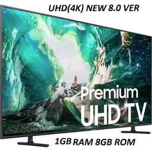Malaysian 42 UHD 4K Latest 8.0 Version LED Smart internet android Television 1GB Ram 8GB ROM- Black