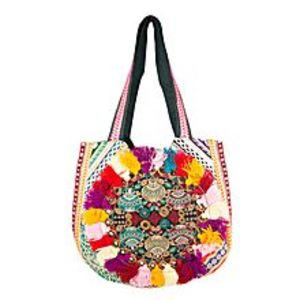 Fashion Café Traditionally Embroidered Classy Bag