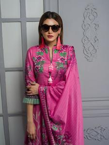 Rangreza Collection Printed Mid Summer Lawn Unstitched Suit - 3 Piece Volume-4