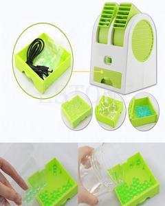 Mini Desktop Air Conditioner USB Fan Cooling Portable Cooler