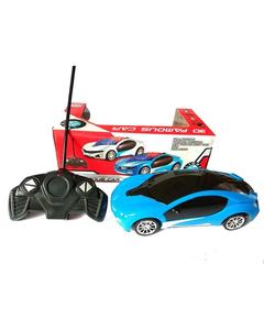 Rc Car With Lights - Blue