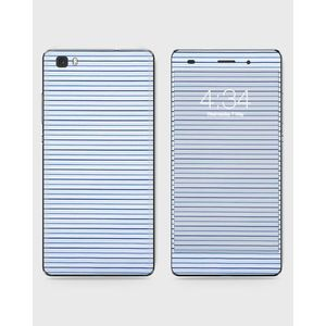 Huawei Honor P8 Lite (2015) Skin Wrap With Front Back And Sides BLUE LINES-1wall84