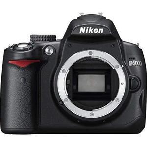Nikon D5000 Body Dslr Camera Black
