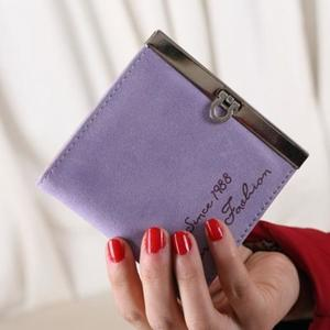 Fashion Lady Women Ultrathin Mini Purse Leather Wallet Credit Card Holder Bags Gift