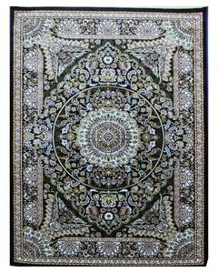 Silky Traditional Rug - Synthetic - 4X6 - Green