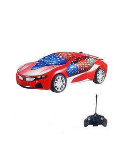 Kids Toys Gadgets Rc Car With Led Lights - Red