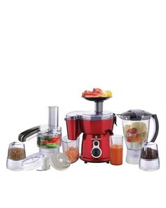 Westpoint WF-2803 - 9-in-1 Jumbo Food Factory with Extra Grinder - White & Red