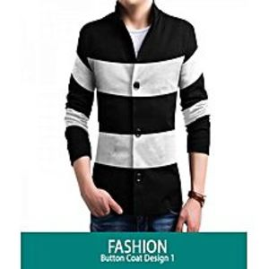 AN Fashion Fashionable Button Style Coat For Men FsB-711