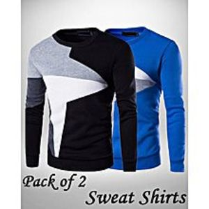 StyleoPACK OF 2 SWEAT SHIRTS FOR MEN