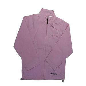 Pink Timberland Embroidered Jacket