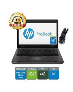 Probook 6470 Intel Core I3 - 3Rd Gen 4Gb Ram - 320Gb Hdd - 14 Inch - Cam, Wifi - 10 Months Warranty
