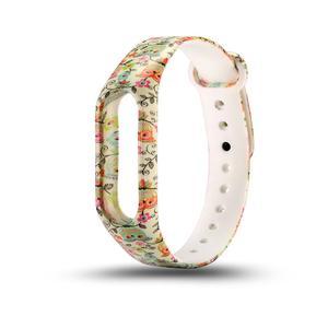 Amazing  Watchband Wristband Soft TPU Colour Decoration Band Sports for Xiaomi Band2