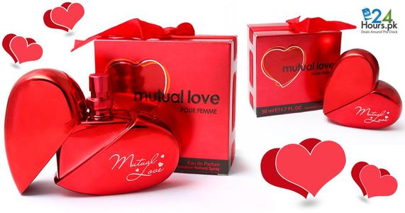 Mutual Love Perfume Original - 50ml - Red- For Women