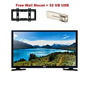"Icon Mart ICON 24"" LED HD LED TV With free Wall Mount and 32 GB USB"
