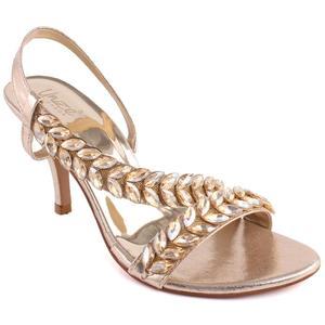 """Women """"Hazel"""" Open Toe Cross Over Sling Back Strap Stiletto Sandals  L31202"""