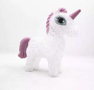 Creative Gifts Crystal Small Night Lamp LED Seven-color Lights Granule Unicorn Gift Wholesale