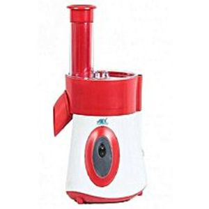 Anex AG-397 - Deluxe Vegetable Slicer & Salad Cutter - Red And White
