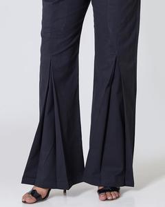Bonanza Satrangi - Black Twill Trouser For Women - LTS-253-14