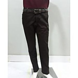 FOR-U Brown Chino Cotton Jeans For Men - JES056