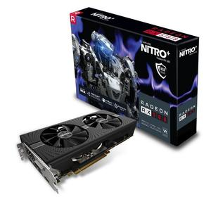 Sapphire 11265-01-20G Radeon Nitro+ RX 580 8GB GDDR5 Dual HDMI / DVI-D / Dual DP with Backplate (UEFI) PCI-E Graphics Card (used)