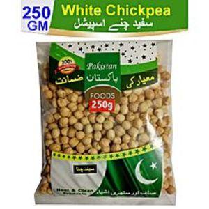 Pakistan FoodsWhite Chickpea Safaid Channa (250 Gm)
