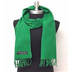 Hi CharlieGreen Wool Muffler For Men