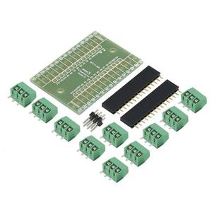Expansion Board Terminal Adapter DIY Kit For Arduino Nano IO Shield V1.0 Blue