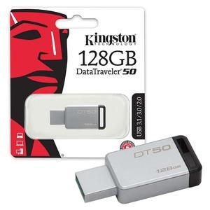 128GB 3.1 USB Flash Drive DataTraveler50 - 5 Year Brand Warranty