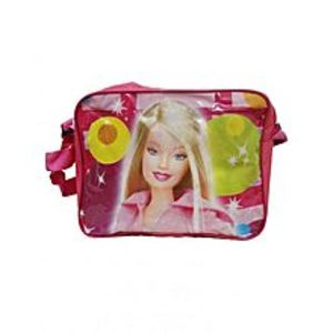 Telemall Barbie School Lunchbox Bag for Girls - Pink