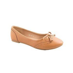 Camel Artificial Leather Womens Pumps 060-128