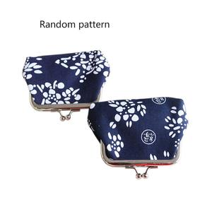 Canvas Purses Ethnic Wind Wax-dyed Zero Wallet Coin Lady Bag