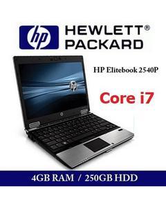 Elite-Book 2540p - Core-i7 - 4GB Ram - 250 GB HDD -Refurbished