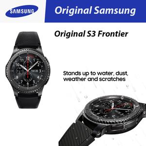 Original Samsung Gear S3 Frontier 4GB Rom with Fitness Tracker - Black/Space Grey