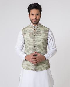 Bonanza Satrangi - Green Cambric Waistcoat - 50772-L