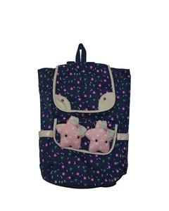 2 STAR CUTIE BAG FOR SCHOOL AND COLLEGE- BLUE