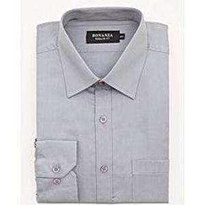 Bonanza SatrangiGray Pc Men's Smart Shirt