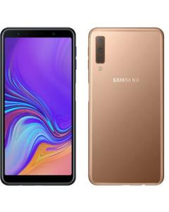 "Samsung Galaxy A7 2018 ""128Gb / 4GB"" -GOLD  /// WITH Free Gift 10000 MAH Power Bank"