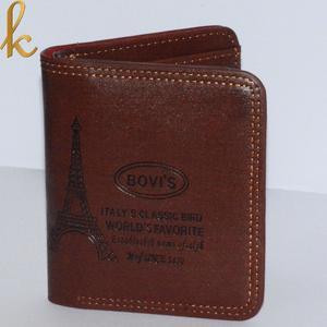 Bovi's Mens Leather Wallet