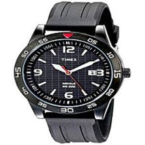 TimexTimex Men's T2N694 Fairlawn Avenue Black Resin Strap Watch