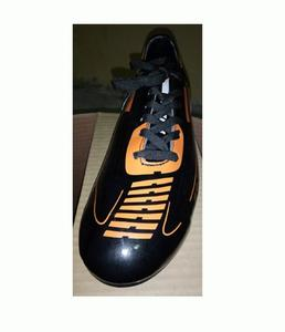 Soccer Shoes Football - Shoe P.V.C Leather - Cloth Lining