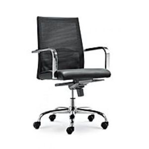 TorchCm-F80Bs Manager Chair - Black