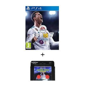 Pack of 2 - FIFA 18 Standard Edition & Kontrol Freeks DVD PS4 Game