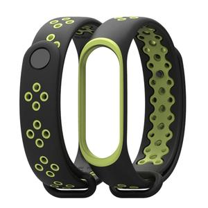 Wristband Sports Version New Anti-Lost Two-Color Occlusion Replacement Strap for MI band 3