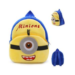Minion Stuart Plush Backpack For Kindergarden Nursery Kids