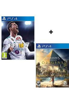 Bundle Offer - Fifa 18, Assassin'S Creed Origins - Playstation 4