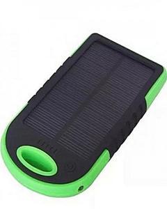 Solar Power Bank 5000 mAh - Black&Green