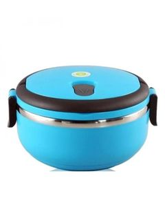 Thrifty Collection Lunch Box Round - Blue